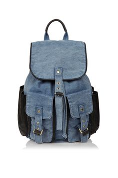 acid wash trim backpack