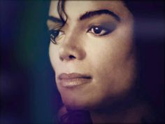 The eyes are the window to the soul and Michaels say so much about him