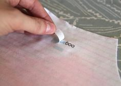 DIY tagless clothing labels - perfect for labeling my girls' clothes for school