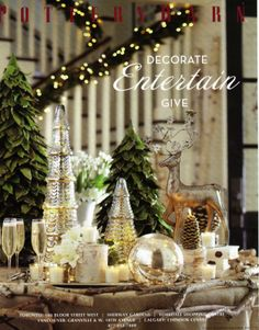 pottery barn christmas google search silver christmas christmas home christmas holidays rustic