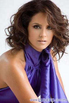 Lucero. Barbara Mori, Good Looking Women, Mi Long, Beautiful Women Pictures, Beautiful Celebrities, Famous Celebrities, Beautiful Ladies, Dark Hair, Wedding Makeup