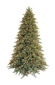 9 ft Just Cut Deluxe Aspen Fir Artificial Christmas Tree with Color Choice *** Check this awesome product by going to the link at the image.
