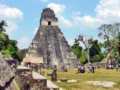 Piramide del Gran Jaguar en Guatemala