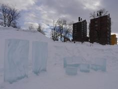 Sculture di ghiaccio in città - Ice sculptures in town (Riccardo Tebano, Kiruna)