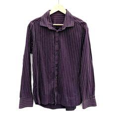 Button Down. S Shirt, Shirt Dress, Click Photo, Purple And Black, Black Stripes, My Ebay, Boy Outfits, Amp, Button