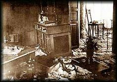 Nicholas and Alexandras room as it had been found  Ipatiev House - Romanov Memorial - After 1918