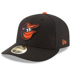 Baltimore Orioles New Era Diamond Era 59FIFTY Low Profile Fitted Hat - Black
