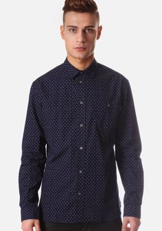 Quirky smart/casual mens tailored shirt.