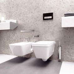Light Grey Mosaic Tiles | Walls and Floors