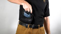 """This is FAQ - Drawing One Handed"""" by Urban Carry Holsters on Vimeo, the home for high quality videos and the people who love them. Best Concealed Carry, Concealed Carry Holsters, Urban Carry, Survival Skills, Survival Stuff, Handgun, Firearms, Paddle Holster, Diy Crossbow"""