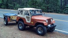 1955 Willys CJ-5 - Photo submitted by Robert Maclay.