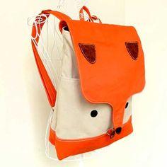 630e8c21b238 Fox Vegan Backpack Laptop BackPack Fox Bag Diaper Backpack Travel Backpack  Macbook Padded Laptop Bag Cestovanie