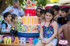 Festa de aniversário decoração tema Clube 8 anos NanaLu  colorido rosa menina…