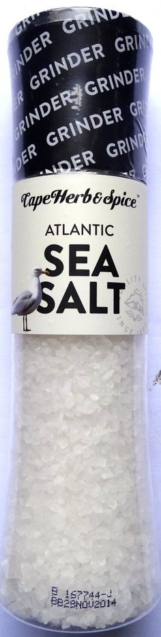 Cape Herb Atlantic #SeaSalt Grinder (Bb 16 May 15)
