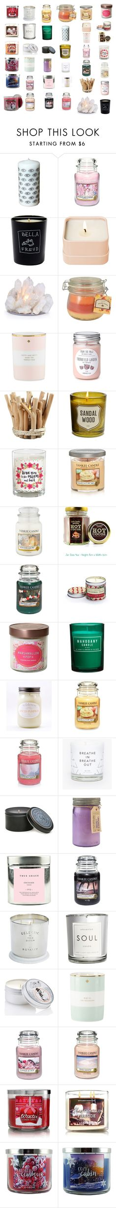 """""""Untitled #198"""" by georgia-rasmussen-gr ❤ liked on Polyvore featuring interior, interiors, interior design, home, home decor, interior decorating, Yankee Candle, Bella Freud, Henri Bendel and Sonoma life + style"""