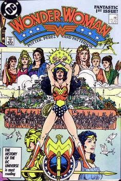 La Mujer Maravilla.