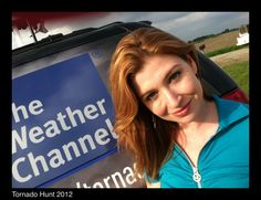 Danielle Banks on 1st week of Tornado Hunt 2012