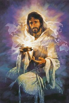 The Lord Jesus Christ, Yeshua, is the. 'Light of the World' by Michael Dudash Pictures Of Jesus Christ, Religious Pictures, Religious Art, Jesus Our Savior, Jesus Is Lord, Images Bible, Jesus Face, Prophetic Art, A Course In Miracles