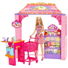 """Barbie Life in the Dreamhouse Grocery Store and Doll Playset - Mattel - Toys """"R"""" Us"""