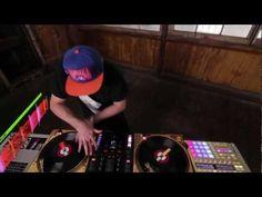 DJ Shiftee scratch routine using Traktor Kontrol Z2 & Maschine #TraktorKontrolMaster #OMG2
