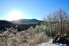 Winter in the Smokies is one of our favorite things!