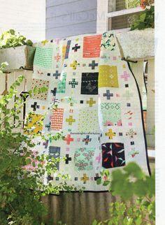 Squares Plus Quilt Pattern Pieced SC