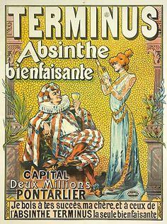 Vintage Ads - Terminus Absinthe
