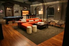Chuck Bass Residence   Living Room   Gossip Girl Interiors Set Decoration  By Christina Tonkin