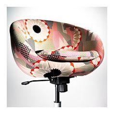 SKRUVSTA Cadeira giratória - Ankarsvik multicor - IKEA