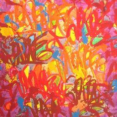 JonOne - Colors spectrums   Oeuvre d'Art en Vente Artsper
