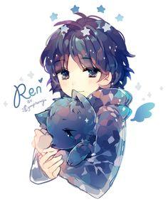 ren is so cute <3