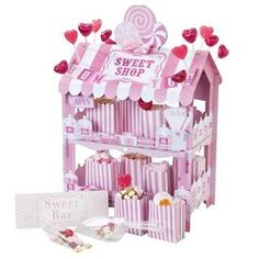 Stand Candy Bar Rosa Mini