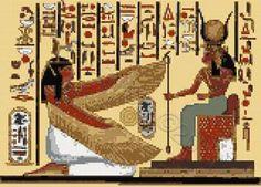 Nefertari cross stitch kit or pattern | Yiotas XStitch