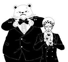 One piece Trafalgar Law & Bepo
