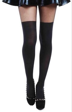 Pamela Mann Plain Over The Knee Tights - See more tights at www.fashion-tights.net ‪#tights #pantyhose #hosiery #nylons #fashion #legs‬ #legwear #advertising #influencer #collants
