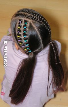 Easy Hairstyles, Girl Hairstyles, Baby Girl Hair, Short Hair Styles, Lil Sis, Amazing, Hair Ideas, Children, Kids