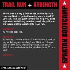 SPARTAN BOOTCAMP :  TRAIL RUN + STRENGTH