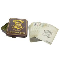 Shop for Harry Potter Paladone Hogwarts Playing Cards. Starting from Choose from the 4 best options & compare live & historic toys and game prices. Carte Harry Potter, Theme Harry Potter, Harry Potter Merchandise, Harry Potter Gifts, Harry Potter Hogwarts, Four Houses Of Hogwarts, Anniversaire Harry Potter, Hogwarts Crest, Gaming Merch
