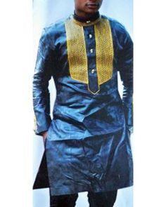 African Men Bazin Clothing African Men Fashion Nigerian Men Fashion Attire Nigerian Men Fashion Men Outfits African Men Custom made garment