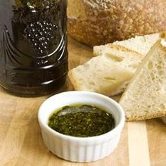 """Spicy Oil and Vinegar Bread Dip 