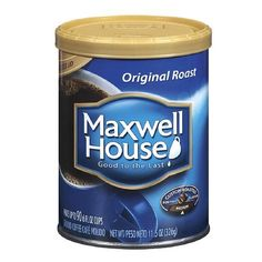 Maxwell House Original Roast Medium Ground Coffee 115Ounce Cans Pack of 12 >>> You can find out more details at the link of the image. Note: It's an affiliate link to Amazon.