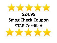 Click on the following link to print or present your $24.95 smog check coupon on your mobile device: http://mainstreetshell.com/promotions/smog/youtube/smogpromo.html?gclid=test