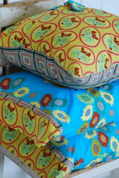 Cottage Pillows, Boho Pillows, Bohemian Throw Pillow and Pillow Cases. $73.00, via Etsy.