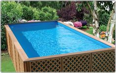 Wooden Above Ground Pools Design