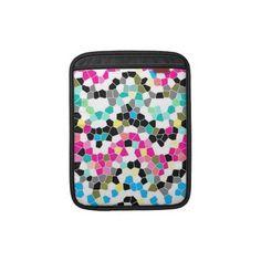 Sleeve iPad pattern mosaic texture  http://www.zazzle.com/sleeve_ipad_pattern_mosaic_texture_ipad_sleeve-205299572915158982