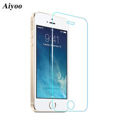 0.74$  Buy here - For Apple iPhone 5S Tempered Glass Screen Protector for iPhone SE 5 5C 9H 0.3mm 2.5D Anti-Scratch Protective Film+Cleaning Kits   #magazine