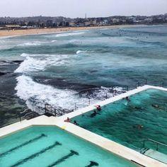 Bondi Beach  #sydney #bondi #bondibeachsydney #bondibeach #surfing #iceberg #australia by paulakra http://ift.tt/1KBxVYg