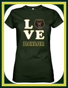 Love those #Baylor Bears!!!