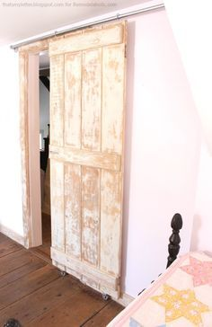 Crisp interiors the country living sliding doors bedroom build an easy diy sliding barn door solutioingenieria Choice Image