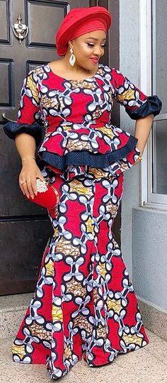 aso ebi styles, African fashion, Ankara, kitenge, African women dresses, African prints, African men's fashion, Nigerian style, Ghanaian fashion, ntoma, kente styles, African fashion dresses, aso ebi styles, gele, duku, khanga, vêtements africains pour les femmes, krobo beads, xhosa fashion, agbada, west african kaftan, African wear, fashion dresses, asoebi style, african wear for men, mtindo, robes, mode africaine, moda africana, African traditional dresses African Dresses For Women, African Print Dresses, African Prints, African Fashion Dresses, African Women, Royal Blue Lace Dress, African Blouses, Ankara Skirt And Blouse, Kente Styles